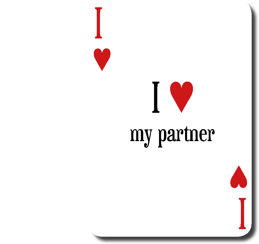 I love my partenaire